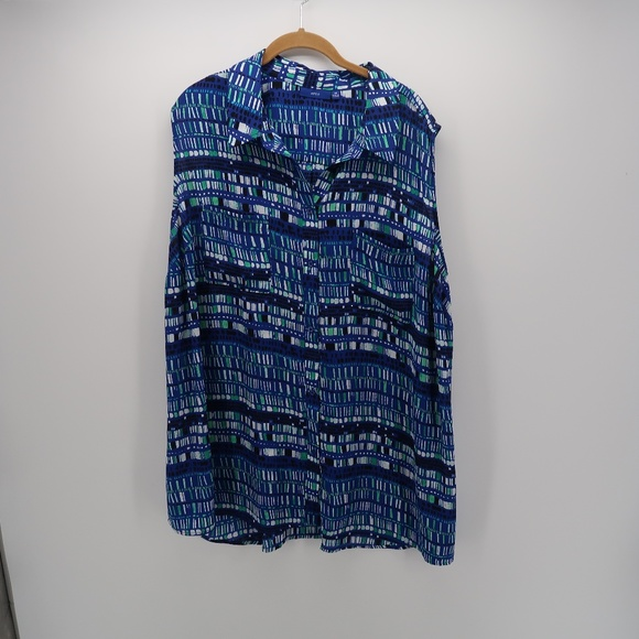 Apt. 9 Tops - Apt. 9 Collar Sleeveless Button Down Shirt Tank